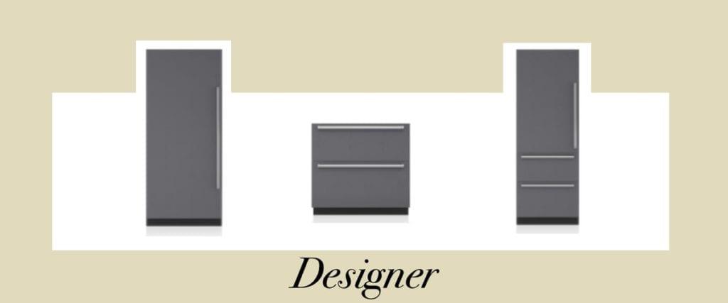 Sub-Zero Classic vs Designer Series Refrigerators - Designer